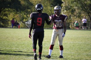 Sr Warriors (42) vs  Bill Crothers Sr. Colts (8) – Photos by Randy Anderson