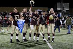 2012 YRAA Championship – Warriors (18) vs. King City Lions (13) – photos by Taylor Lasota